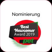 StartUp blepi nominiert für den Pet Best New Comer Award